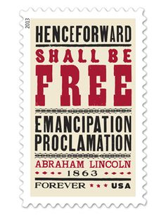 Emancipation Proclamation (Forever) Stamp