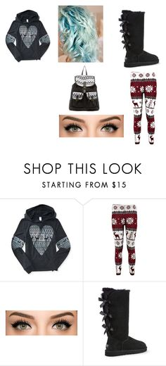 """""""Untitled #127"""" by hazzalove420 on Polyvore featuring Aéropostale, UGG Australia and T-shirt & Jeans"""