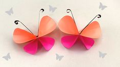 How to make easy paper butterfly 🦋 / paper crafts for school / paper craft / butterflies making Diy Crafts Butterfly, How To Make Butterfly, Simple Butterfly, Origami Butterfly, Easy Paper Crafts, Paper Crafts Origami, Diy Paper, Arts And Crafts, Paper App