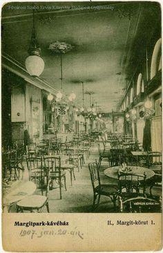 1906. Margit körút 1. Margit Park Kávéház.