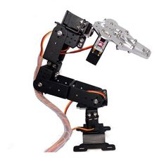 High Quality DIY Metal Mechanical Arm Kit Robot Arm Rotating Machine Kit DiY Robot for Arduino Sierra Leone, Seychelles, Belize, Ghana, Sri Lanka, Diy Robot, Robot Arm, Mongolia, Bras Robot