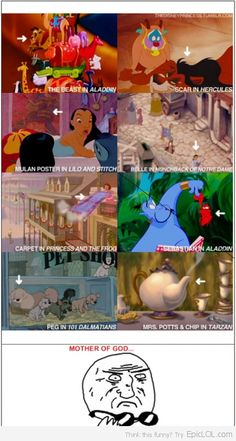 This is what I have been trying to tell everyone, Disney movies are all connected!