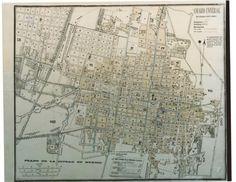 Mapas de la ciudad de Mexico - wikiishtar-observar la colonia Guerrero