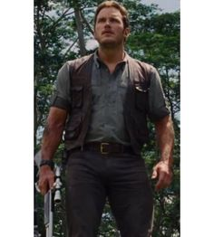 "Fans of Chris Pratt get ready to carry an exceptional yet classy fashion apparel in your personality. Presenting to you an eye catching collection of Jurassic World Owen Vest from the latest Hollywood movie ""Jurassic World."