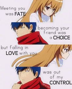 Find images and videos about anime, toradora and Taiga on We Heart It - the app to get lost in what you love. Otaku Anime, M Anime, Anime Life, I Love Anime, Kawaii Anime, Sad Anime Quotes, Manga Quotes, Tsundere, Best Quotes