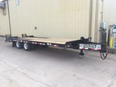 HOLDEN TDO40-20Ton Equipment Trailer, 2016.