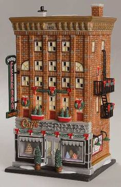 Christmas In The City Ferrara Bakery & Cafe - Boxed by Department 56