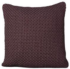 Felt Wool Throw Pillow