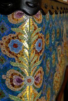 Glass mosaic by Róth Miksa | Flickr - Photo Sharing!