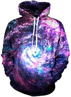 Imilan Galaxy Cosmic Animal Print Hoodie Sweatshirt ** Read more reviews of the item by visiting the link on the image.