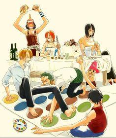 Straw Hat Crew Mugiwaras Luffy Zoro Nami Usopp Sanji Chopper Robin One Piece