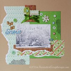 this month's recipe challenge, from @Marinette Scrap