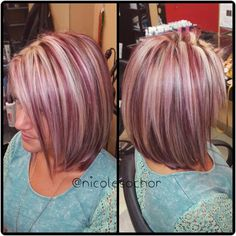 15 Stunning Silver Blonde Hair Color Ideas for 2019 - Style My Hairs Funky Hair Colors, Hair Color Purple, Hair Color And Cut, Cool Hair Color, Hair Color Highlights, Hair Color Balayage, Chunky Highlights, Caramel Highlights, Silver Blonde Hair