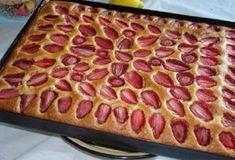 Пирог с клубникой. Очень вкусный и быстрый десерт!