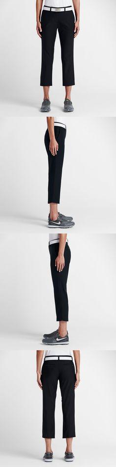 Pants 181148: Nike Golf Tournament Dri-Fit Crop Pants Black 725712-010 Womens Size 10 -> BUY IT NOW ONLY: $54.95 on eBay!
