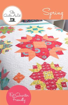 Spring Paper Pattern by She Quilts Alot