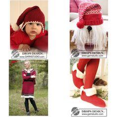 Strikkeopskrifter til jul Crochet Hats, Fashion, Threading, Knitting Hats, Moda, Fashion Styles, Fashion Illustrations