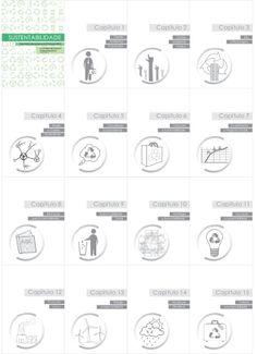 Capa e apresentação dos capítulos do livro Sustentabilidade. 2013
