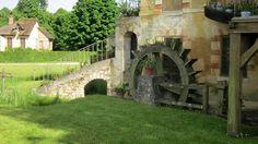 Detalle del molino. Aldea de la Reina Maria Antoniette, Versailles (France), 2013