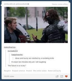 unexpected interruption in the fight between Captain America and the Winter Soldier