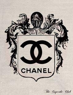 Chanel Logo Tattoo | visit etsy com