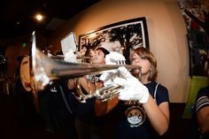 PENN STATE – FANS AND ALUMNI – PEP BAND led crowd in Penn State fight songs.