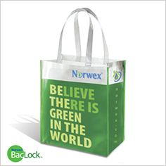 I swear I'm not a Norwex rep, I just really like their stuff, haha.  Reusable Grocery Bag with BacLock™ - Norwex