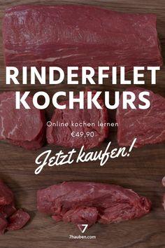 """Unser Online-Kochkurs """"Rinderfilet total"""": Im Video zeigt Haubenkoch Georg Essig, wie du das Rinderfilet richtig zerlegst und welche verschiedenen Zubereitungsarten es gibt. Da wird nicht nur ein Steak perfekt!"""