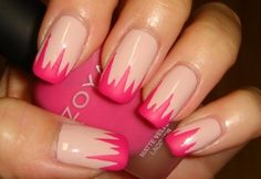 #pink gore but use neon green or blue instead
