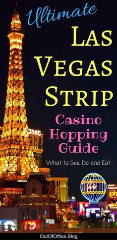 Plan your Las Vegas Casino Hopping adventure: 5 star hotels, celebrity chefs, A-List nightclubs, Broadway shows, ultimate spas and high-end shopping