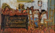 Eugène BABOULENE (1905-1994) Vue d'intérieur Huile sur toile signée en bas à gauche H. 22 cm - L. 35 cm - De Baecque et Associés - 20/03/2017