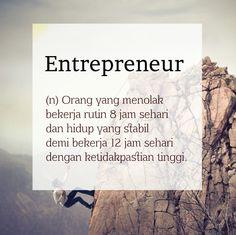 Definisi kata: Entrepreneur