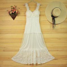 Romantic Greece  V neck White Cream Bride Bridesmaids by Susiewear
