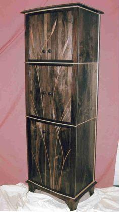 custom made custom walnut and birdseye maple liquor cabinet bar liquor cabinet pinterest liquor liquor cabinet and bar