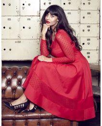 Jameela Jamil Ponte Midi Dress alternative image