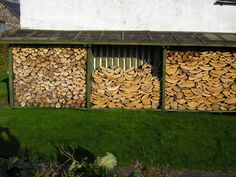 Wood Storage Made From Pallets
