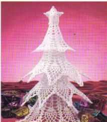 free crochet pineapple pattern Christmas tree