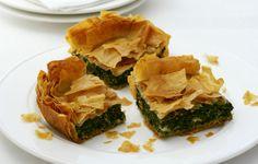 Cheesy Spinach Pie