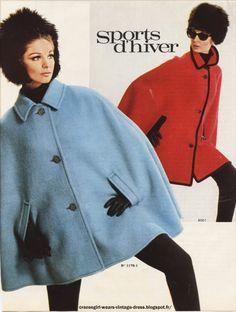 Cape 1966 1967 Christian Dior , Nina Ricci , Hit parade...
