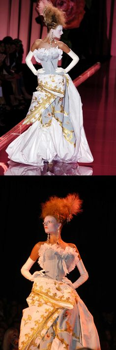 Christian Dior Haute Couture by Galliano Autumn 2004