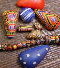 Photo of old Kiffa Beads