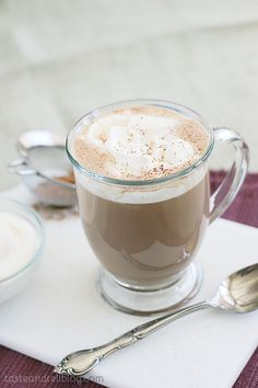 Hot chocolate taken to a whole new level! Hot chocolate is combined with dulce de leche and a hint of salt to make a decadent treat that will warm you up.   I normally enjoy the writing part of blogging.  I'm not a writer by any means, and [...]