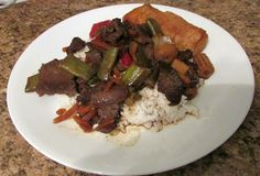 """Have you ever experience an oh no moment?  Late getting home from the city.  Dinner?  No problem, beef stir fry.    Browned the beef, added the veggies and reached for the stir fry sauce...OH NO !  I know that there is a small bottle of it somewhere, but where.  Now here in the pantry are to large bottles of Ms Yoshida's  """"do everything"""" sauce.  I bought them thinking that the were stir fry but read the label and had not gotten around to using it.  I was amazed at the results."""