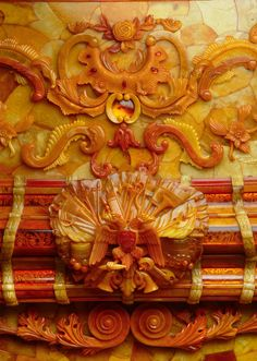 The Amber Room seen in all its glory in 1930 before it was stolen from the palace of Peter the Great in Soviet Russia by invading Nazi troops in 1941. Valued at around £250million in today's money is without doubt the single greatest piece of missing stolen art from World War II never to be found and has captivated treasure hunters ever since it was first plundered.