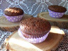 Csilla konyhája, mert enni jó!: Meggylekváros- kakaós muffin
