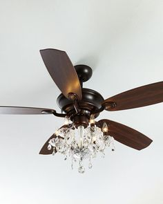 Diy ceiling fan makeover add cage bulb guards and edison bulbs julianne bronze fandelier mozeypictures Gallery