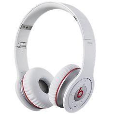 Refurbished Beats by Dr. Dre Wireless On-Ear Headphones, White White Headphones, Best Headphones, Wireless Headphones, Over Ear Headphones, Electronics For You, Studio Headphones, Beats By Dre, Ebay, Beats Audio