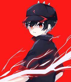 Anime Galaxy, Boboiboy Galaxy, Cute Black Wallpaper, Boboiboy Anime, Animation Series, Super Powers, Thunder, A Team, Chibi