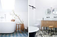 Inspiracje łazienkowe, które zachwycają! Clawfoot Bathtub, Bathroom, Washroom, Bath Room, Bath, Bathrooms