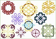 Chinese Folk Art machine embroidery designs 4x4